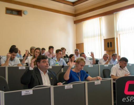 Заседание муниципального Совета Бельц