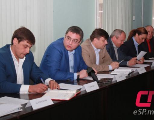 Ренато Усатый, Игорь Шеремет, Градсовет Бельц