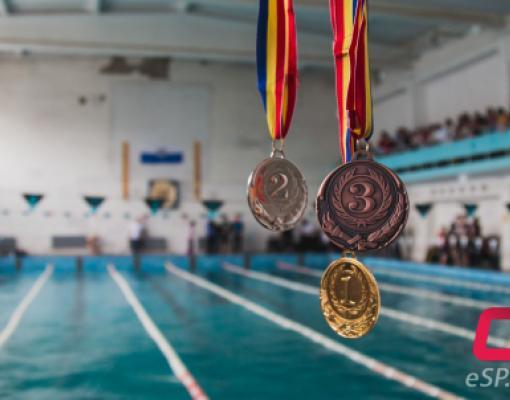 Плавание, соревнование, турнир, медали, бассейн