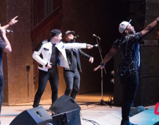 Концерт группы The Exchange в Бельцах