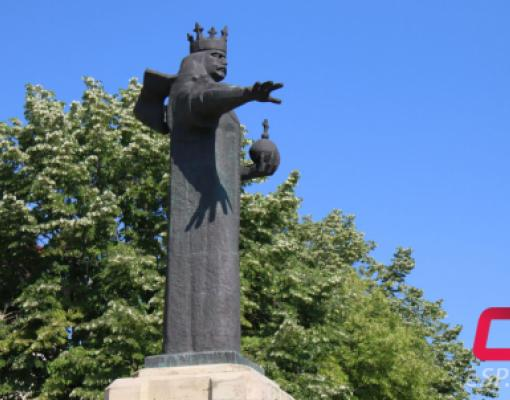 Памятник Штефану чел Маре в Бельцах