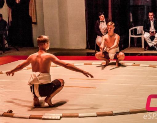 В Бельцах прошёл чемпионат Европы по сумо