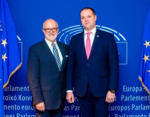 Директор «ADR-Nord» Ион Бодруг заручился в Брюсселе поддержкой европейских коллег для дальнейшего развития проекта