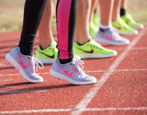 Лёгкая атлетика, кроссовки, бег