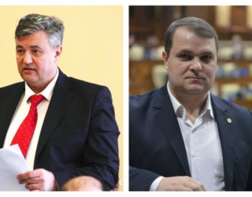 Сергей Киселёв (Демократическая партия) и Александр Нестеровский (Партия социалистов)