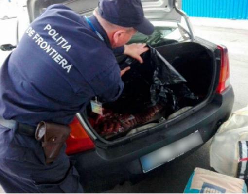 контрабанда колбасы