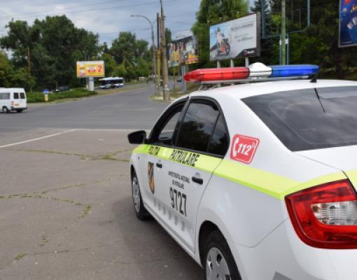 Машина полиции Республики Молдова