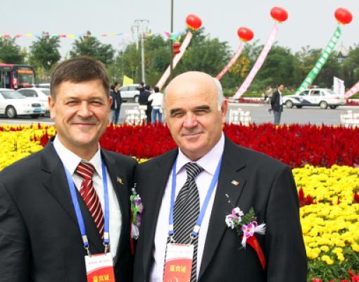 Сергей Михайлов и Василий Панчук