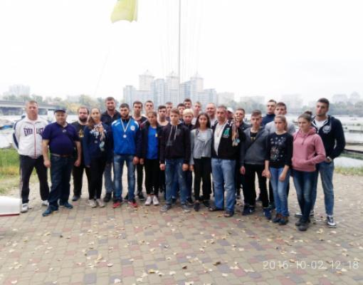 Молдавская команда на регате в Киеве.