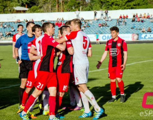 Футбол Заря - Милсами