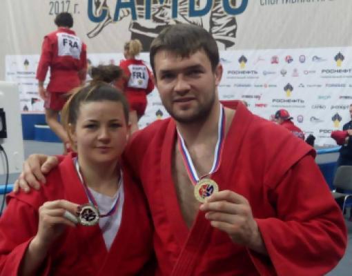 Наталья Будяну и Денис Такий в составе сборной Молдовы отличились на Кубке мира по самбо