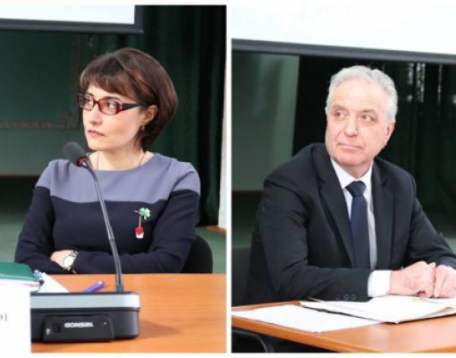 Наталья Гашицой и Павел Топалэ