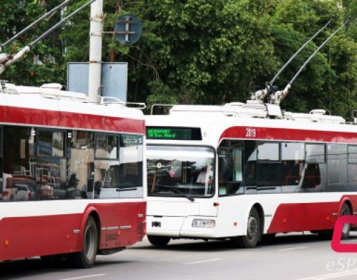 Новые троллейбусы в Бельцах