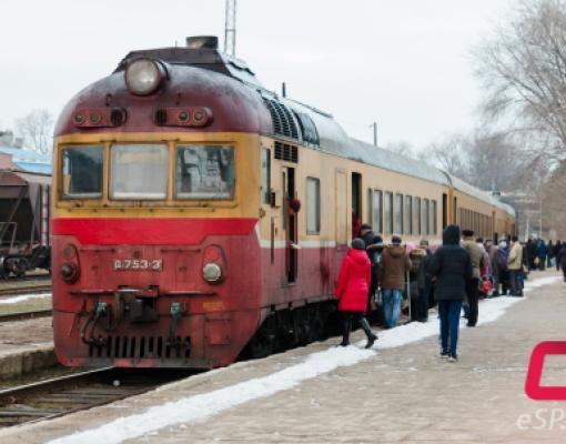 Поезд Бельцы — Унгены