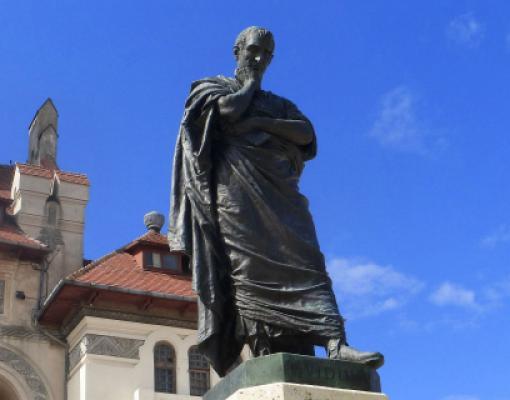 Статуя Овидия в Констанце