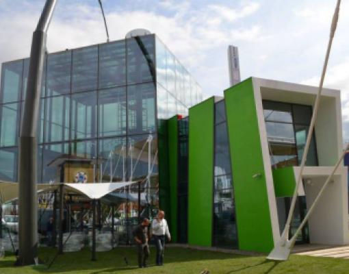 Молдавский павильон на всемирной выставке