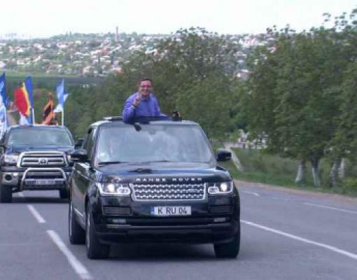 Ренато Усатый на своей машине