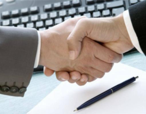 НПО, договор, рукопожатие