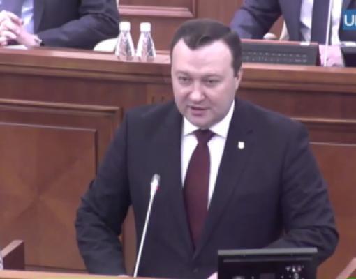 Корнелиу Гурин, генеральный прокурор Молдовы