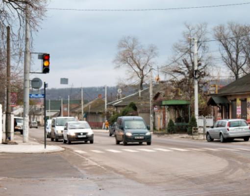 Светофор в Бельцах