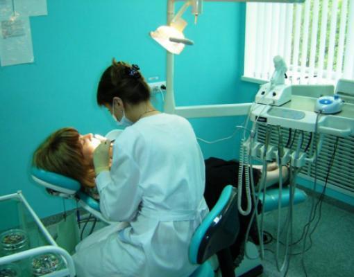 У стоматолога