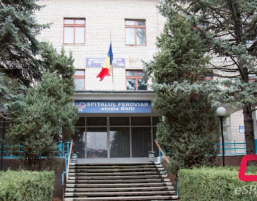 Ж/Д больница в Бельцах