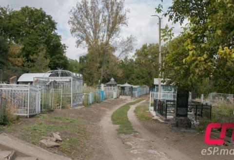 Еврейское кладбище в Бельцах