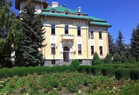 Парк епархии в Бельцах