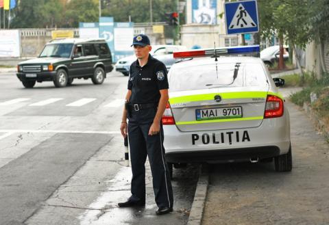 Дорожная полиция Молдовы