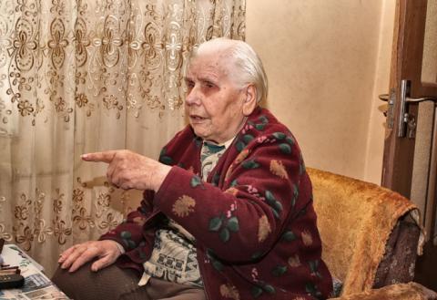 Елена Степанова, ветеран войны