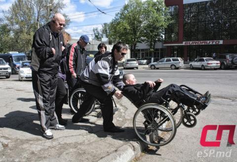 Инвалидная коляска, Бельцы, люди с ограниченными способностями