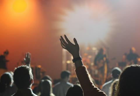 Концерт, вечеринка, мероприятие