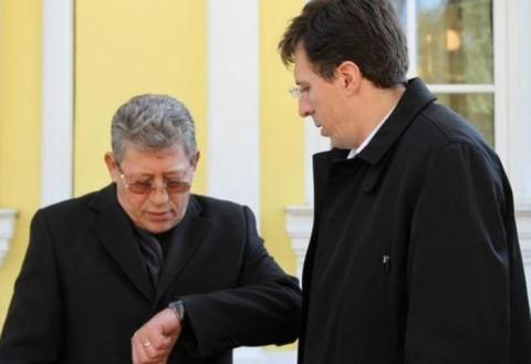 Лидеры ЛП Михай Гимпу и Дорин Киртоакэ.
