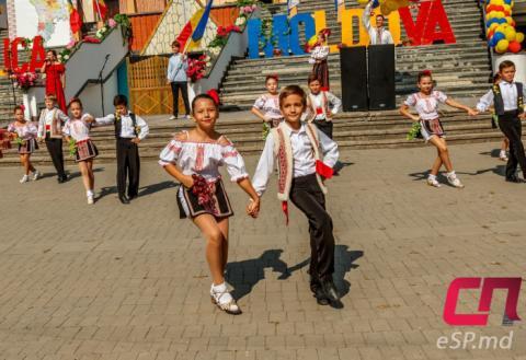 День Независимости Молдовы в Бельцах