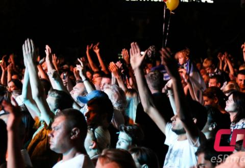 вечерний концерт, зрители, День Независимости