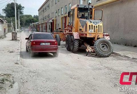 Дорога в плохом состоянии