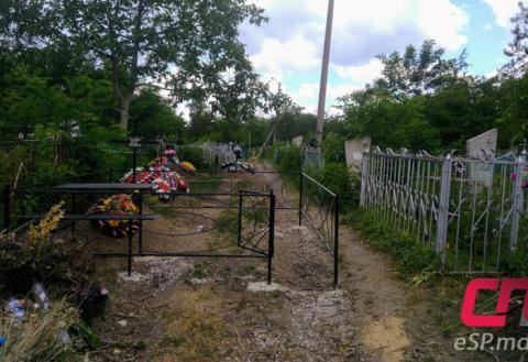 Дорога на бельцком кладбище, могила