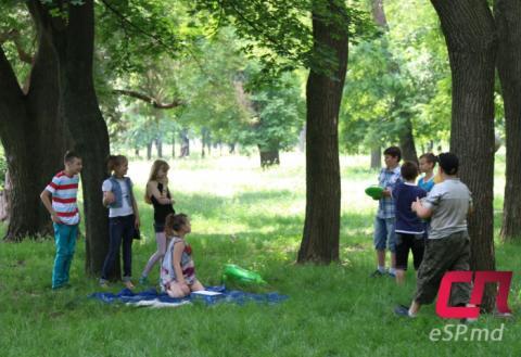 Парк Победы, Бельцы