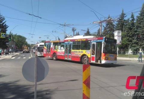 Троллейбусы в Бельцах