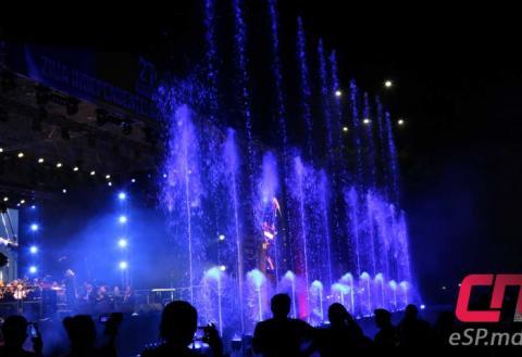 Поющие фонтаны в бельцах
