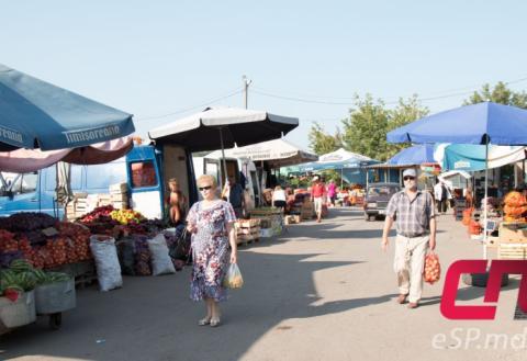 Овощной рынок в Бельцах