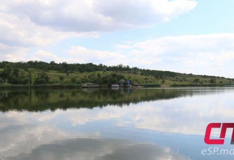 Городское озеро в Бельцах