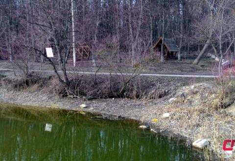 Комсомольское озеро в Бельцах
