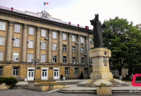 Примария Бельц, памятник Штефану чел Маре, достопримечательности
