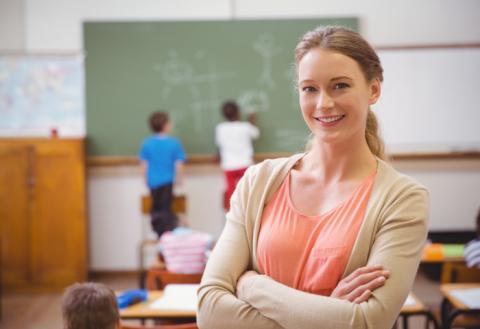 Учительница, школа, класс