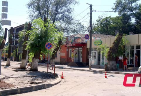 Бельцы, перекрёсток ул. Пушкина и Индепенденцией
