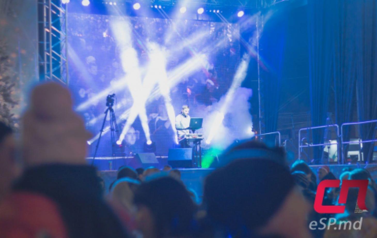Новогодняя ночь в Бельцах