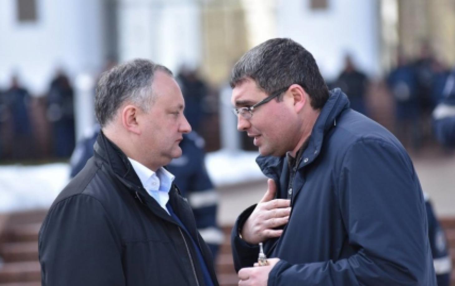 Игорь Додон и Ренато Усатый