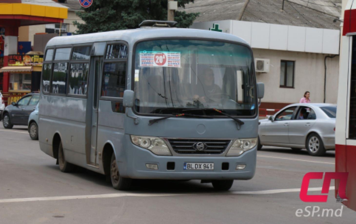 Автобус №20, Бельцы