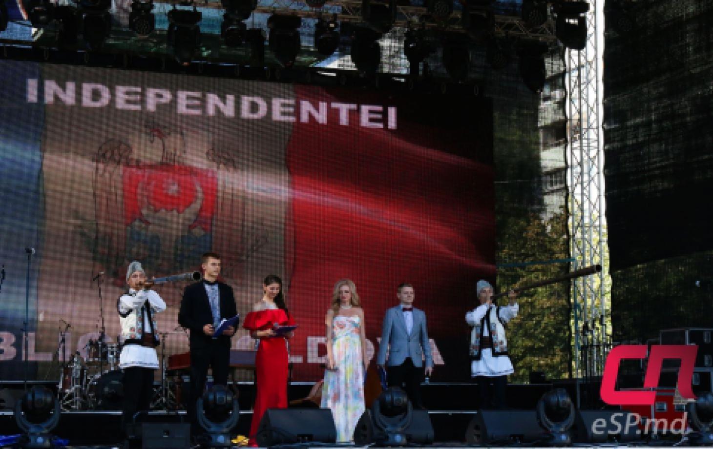 День Независимости Республики Молдова в Бельцах